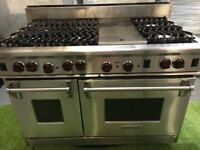 Stunning Wolf Range cooker Double oven with griddle Sub Zero Kitchen Appliance