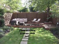 Professional gardening &landscaping/paving/fencing/tree surgeon/maintenance/ jet-washing