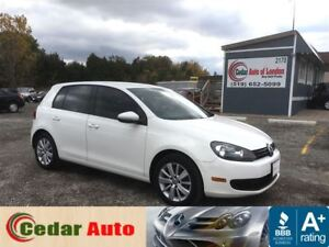2012 Volkswagen Golf Comfortline - One Owner -  Managers Special