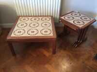 Matching G Plan Teak Coffee Table & Nest of Tables