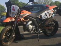 AJS JSM50 2015 50cc Motorbike