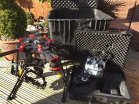 DJI S900 Hexacopter Drone / UAV with Panasonic GH4 Ready to fly