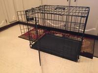 Top Paw Collapsible Dog Crate (Double Door)
