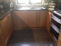 Solid Oak Kitchen Units for Sale