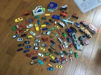 Huge bundle boys toys CARS KNIGHTS SOLDIERS ANIMALS ETC 3 boxes