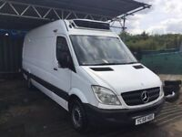 2008 , 58 MERCEDES SPRINTER 311 CDI LWBASE REFRIGERATION SIDE DOOR 6 SPEED DRIVES SUPERB FRIDGEVAN