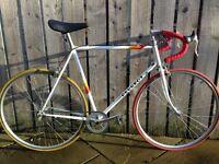 Peugeot Single Speed Road / Race Bike Vintage Retro New Build