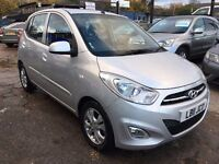 Hyundai i10 1.2 Active 5dr£3,595 p/x welcome FREE 1 YEAR WARRANTY,NEW MOT