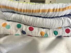 Mothercare baby muslins