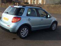 2009 suzuki sx4 gl -1586 cc hatchback.12 months mot/warranty/53000 miles/petrol