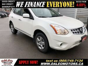 2011 Nissan Rogue S | ONLY 82KMS! | FINANCING AVAILABLE