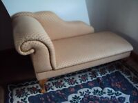 Handcrafted Chaise Lounge Sofa (SENSIBLE OFFERS CONSIDERED)