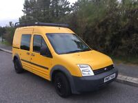 Ford Transit Connect 08, LWB, High Top, Crew Cab, No VAT
