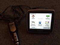Tom Tom one gps satnav uk & Ireland with in car charger