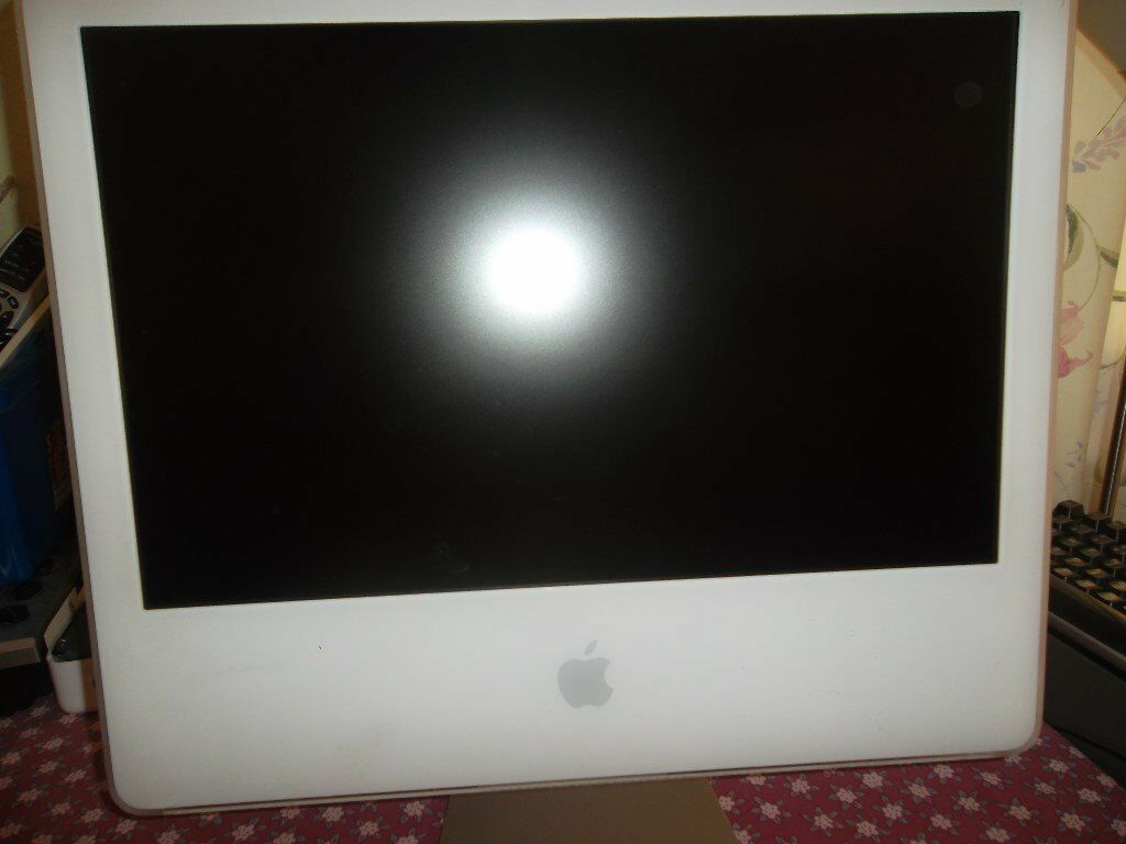 iMac ***Apple iMac 5 1 Model A1207 Core 2 Duo @ 2 16GHz 4 GB RAM 250 GB HDD  Webcam *** REDUCED   in Bromley, London   Gumtree