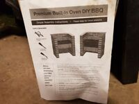 Premium Built-In Oven DIY BBQ