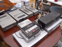 Collection of vintage Sony recorders