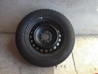 215 60R15 Gislaved nord 5 frost snow tires and rims 5X4.5 bolt