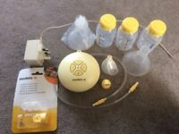 Medula Swing Breast Pump and unused accessories