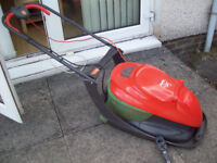 FLYMO LAWNMOWER EASI GLIDE 330VX FOR SPARES OR REPAIR (INCLUDES PLASTIC SPANNER FOR BLADE REMOVAL )