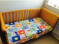 BABY COT for New Born to 6 Years old which can also be a sofa