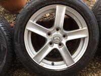 Alloy wheels Mazda mx5