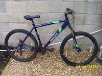 Apollo Paradox 21 speed mountain bike disc brakes aluminium large frame