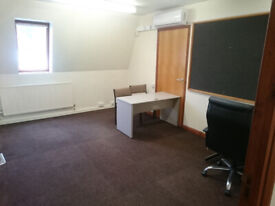 Office to let, Burton Road, Carlton. Only £249pcm including rates, utilities, air conditioning