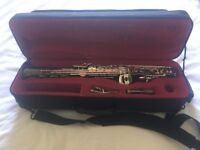 John Packer Bb Soprano Sax (Black/Silver) - Model JP043BS  - Great price, fantastic instrument