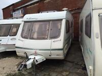 4 BERTH 2004 SWIFT WITH END SIDE DINETTE WE CAN DELIVER PLZ VIEW