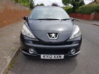 beautiful 2012 Peugeot 207 1.4 only 44000 mls