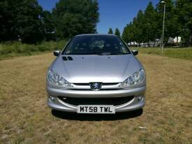 2009 Peugeot 206 1.4 - 12month MOT - 1 Previous owner