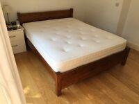 Warren Evans king size Shaker bed and mattress