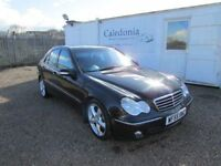 MERCEDES C200 CDI DIESEL AUTOMATIC YEAR MOT FULL LEATHER