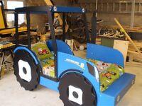 Kids Novelty Tractor Beds