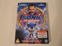 Sonic The Hedgehog DVD Brand new still in wrapper