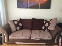 1 x 3 seater sofa and 1 x 3 seater sofa bed