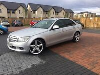 2008 MERCEDES C CLASS 200 SE CDI (diesel) / 6 SPEED GEARBOX / MOT TILL MARCH 2018 / NO ADVISORY