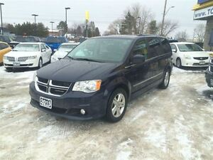 2015 Dodge Grand Caravan CREW PLUS, LEATHER, SUNROOF, NAVIGATION