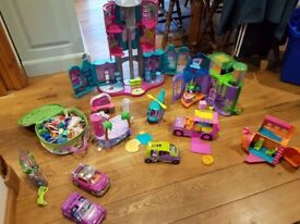 Kids Polly Pocket toys - large collection