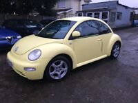 2000 , VW BEETLE , 2.0 L , YELLOW , GOOD CONDITION , 12 MONTHS MOT