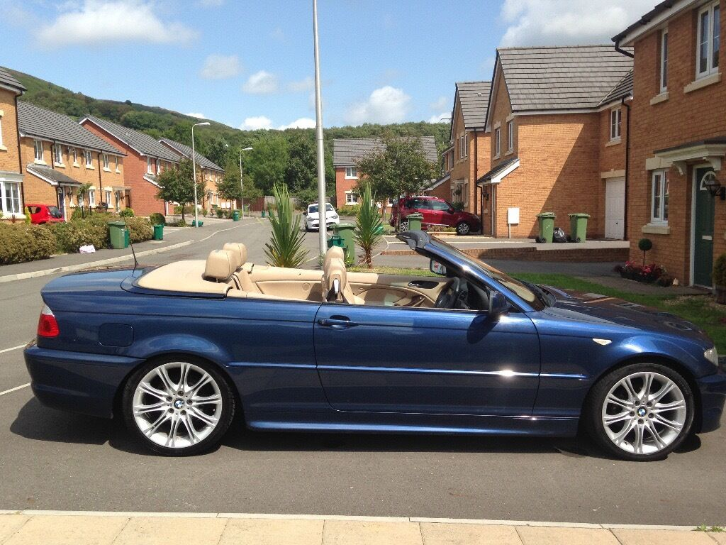 Reduced Bmw 318ci M Sport Convertible 2004 In