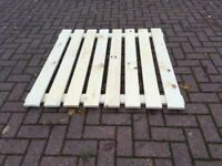 New Excel Pallet Racking Slatted Timber Wood Decking Boards (Brentwwod Branch)