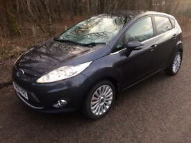 "FORD FIESTA 1.6 TDCI DIESEL TITANIUM 5 DOOR . CRUISE CONTROL , 16"" ALLOYS, A/C , ETC"