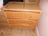 chest drawers bamboo
