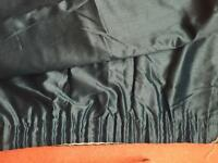 66x90 inch teal curtains new!