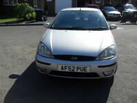ANOTHER UNWANTED PART EXCHANGE FORD FOCUS 1.6 ZETEC MOTED MUST GO TODAY HENCE £350.00 TO CLEAR