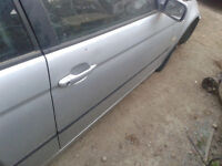 bmw e46 320td titan silver DOOR for COMPACT breaking for parts GATWICK