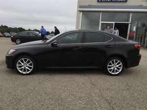 2012 Lexus IS 250 Show Room Condition Paddle Shift Awd  Black On Kitchener / Waterloo Kitchener Area image 3