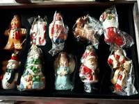 Thomas Pacconni porcelain Christmas decorations